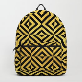 Amsterdam Art Deco/Art Nouveau Pattern Backpack