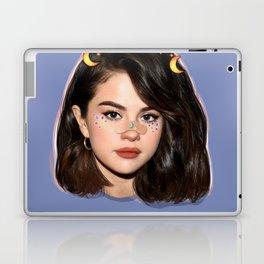 Kawaii moon girl Laptop & iPad Skin