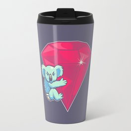 Koala Bear Underwear Travel Mug