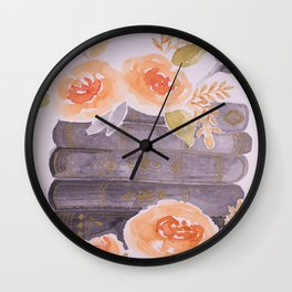 Scattered Thoughts Wall Clock