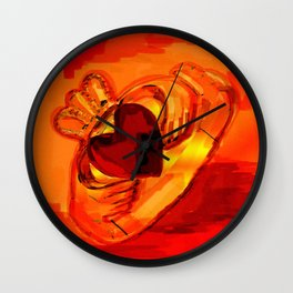 The claddagh ring  Wall Clock