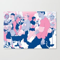 MY OWN PRIVATE PILL Canvas Print