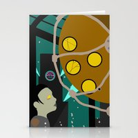 bioshock Stationery Cards featuring Bioshock by Chandler Payne