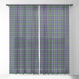 Farquharson Tartan Plaid Sheer Curtain