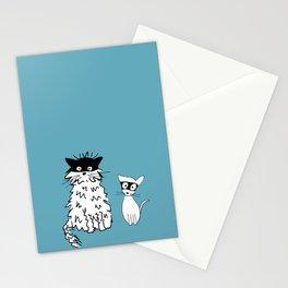 Ninja cats Stationery Cards