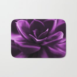 Succulent Plant In Violet Color #decor #society6 #homedecor Bath Mat