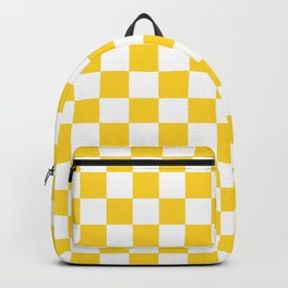 Yellow Check - more colors Backpack