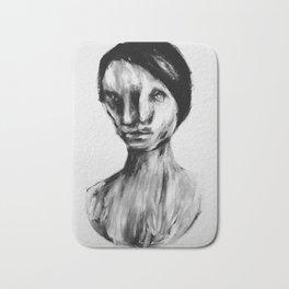 Surreal Distorted Portrait 05 Bath Mat