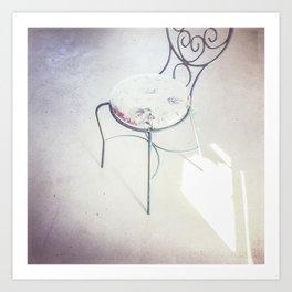 love chair Art Print