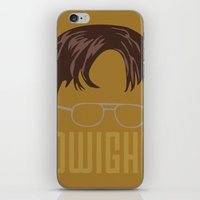 dwight iPhone & iPod Skins featuring Dwight and you by Ally Simmons