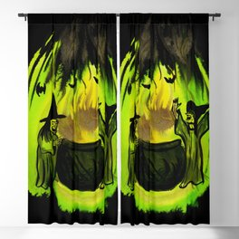 Witches Brew Blackout Curtain