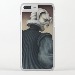 Fragile Assertion Clear iPhone Case