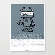 Ze Robot, Cool :) Canvas Print