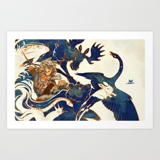 A Distant Dream - Kaukainen Uni Art Print