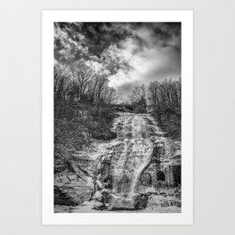 finger lakes falls Art Print