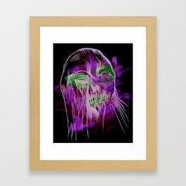 Face Illustration 13 Framed Art Print