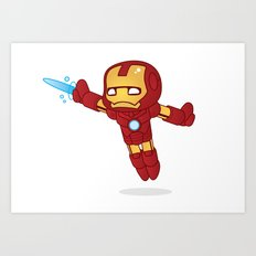 IRON MAN ROBOTIC Art Print