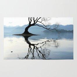 The Wanaka Tree, South Island, New Zealand Rug