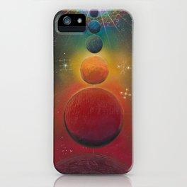 """""""Cosmic Alignment"""" iPhone Case"""