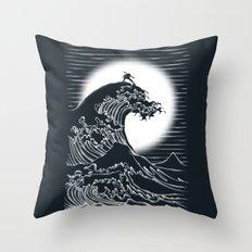 Waterbending Throw Pillow