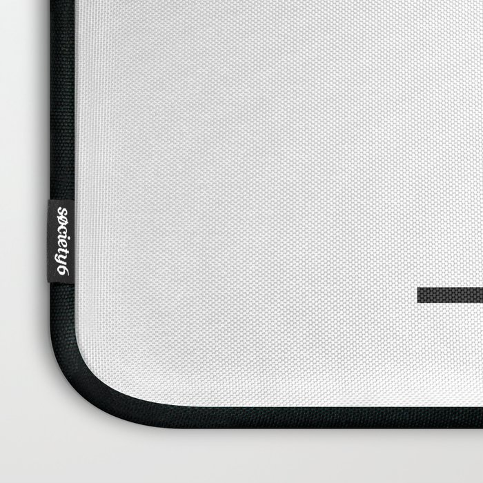 'B' Initial Laptop Sleeve