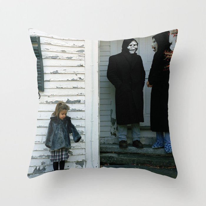 Brand New – The Devil And God Are Raging Inside Me Throw Pillow