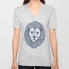 Blue Eyed Lion Unisex V-Neck