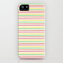 Lovely Stripes  iPhone Case