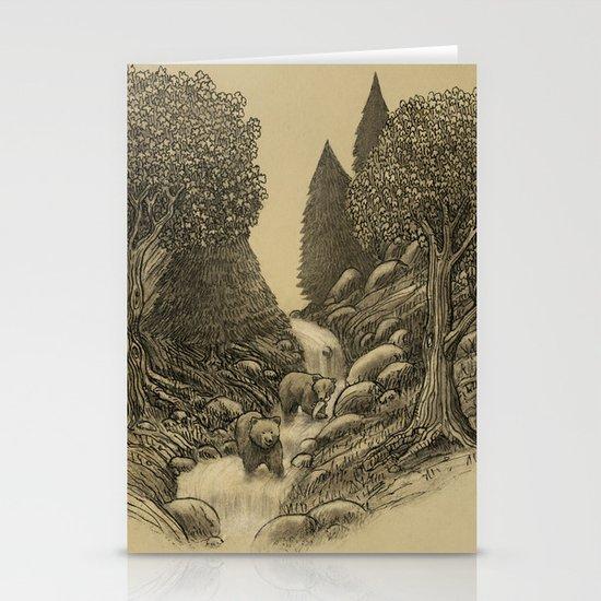 Bear Creek  Stationery Cards