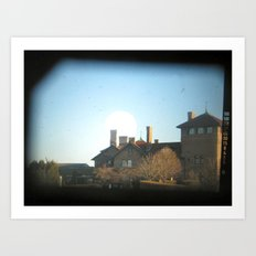 A look through my lens Art Print