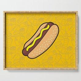 Hotdog Serving Tray
