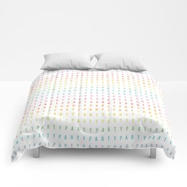 Party Pattern Comforters
