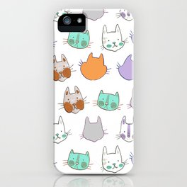 Kolor Kats iPhone Case