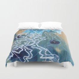 Blue Jelly Duvet Cover
