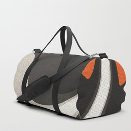 Abstract orange shapes Duffle Bag