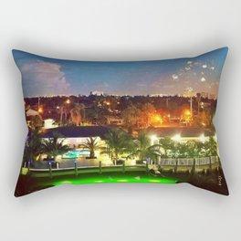 Fireworks 5 Rectangular Pillow