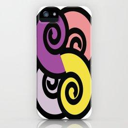 Spirals iPhone Case