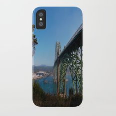 Cross Over Into Paradise iPhone X Slim Case