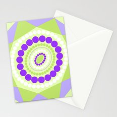 Lavender Mint Flowers Stationery Cards