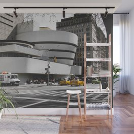 Guggenheim | Frank Lloyd Wright Architect Wall Mural