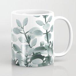 Eucalyptus Leaves Green Vibes #1 #foliage #decor #art #society6 Coffee Mug
