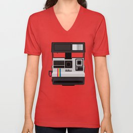 Polaroid Supercolor 635CL Unisex V-Neck