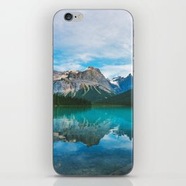 The Mountains and Blue Water - Nature Photography iPhone Skin