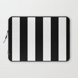 STRIPES - BLACK & WHITE Laptop Sleeve