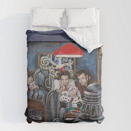 Doctors Playing Poker  Comforters