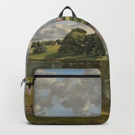 John Constable Wivenhoe Park, Essex 1816 Painting Backpack