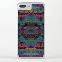 Gekkato geometry II Clear iPhone Case