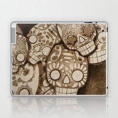 skull fresco Laptop & iPad Skin