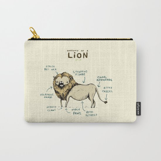 Anatomy of a Lion Carry-All Pouch