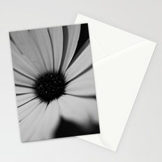 Black Daisy Stationery Cards